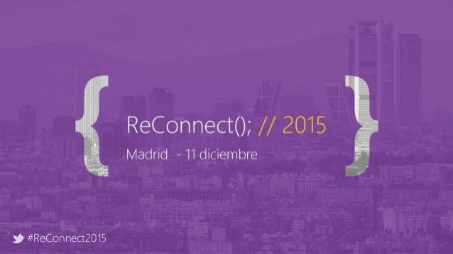#ReConnect2015