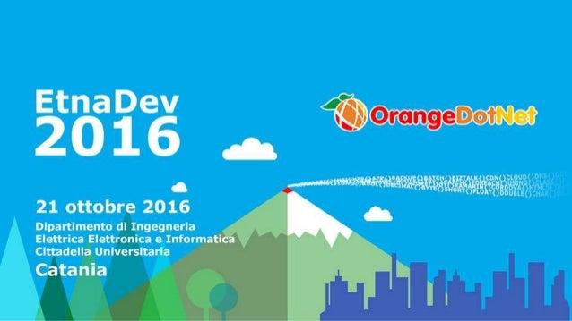 ASP.NET Core e Docker Emanuele Bartolesi emanueleb@outlook.com @kasuken