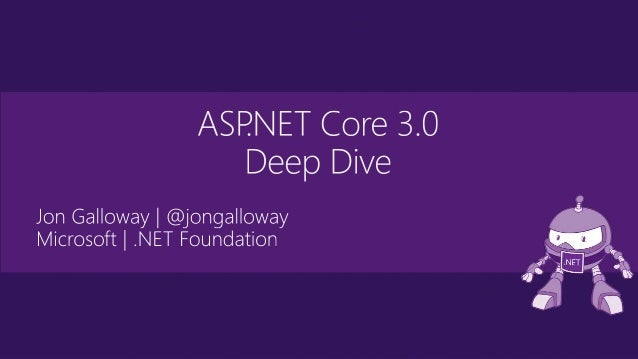 Upgrading to ASP.NET Core 3.0