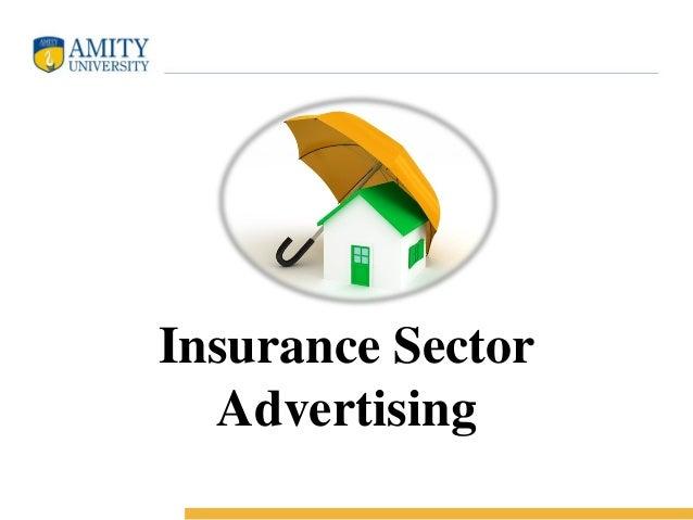 Insurance Sector Advertising