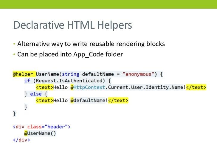 Extending ASP.NET MVC HtmlHelper Class