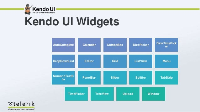 Asp net mvc - Better User Experience with Kendo UI