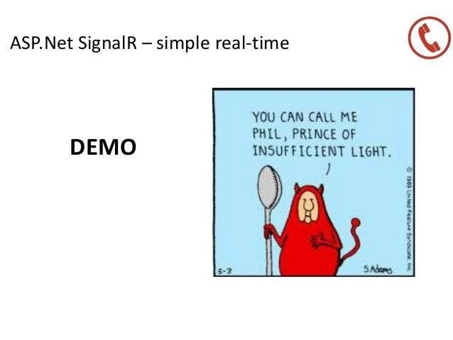 ASP.Net SignalR – simple real-time DEMO