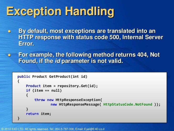 Asp net web api extensibility