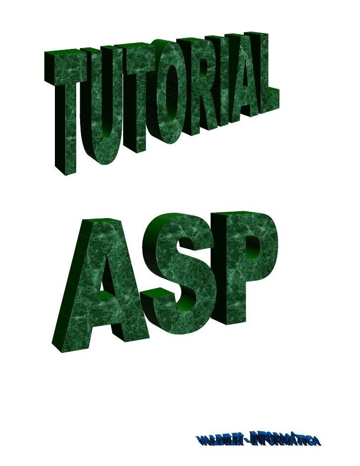 O que é ASP?Active Server Pages (ASP) é uma linguagem para geração de páginas HTMLdinamicamente.A partir de um Windows NT ...