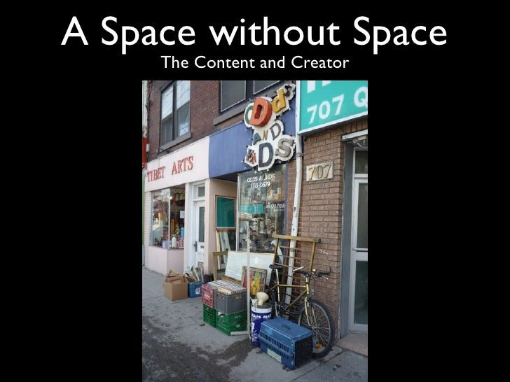 A Space without Space      The Content and Creator