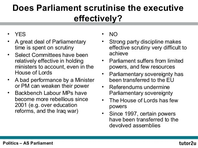 effectiveness of the house of lords Legislative scrutiny in the house of lords posted on may 5, 2016 by lord norton i have received my copy of parliament: legislation and accountability.