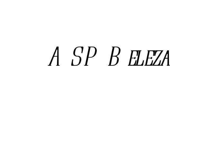 ASP Beleza
