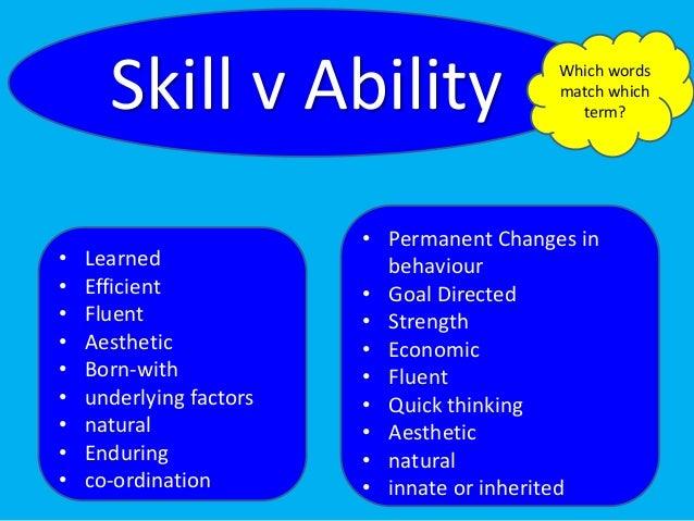Skills And Abilities Rome Fontanacountryinn Com