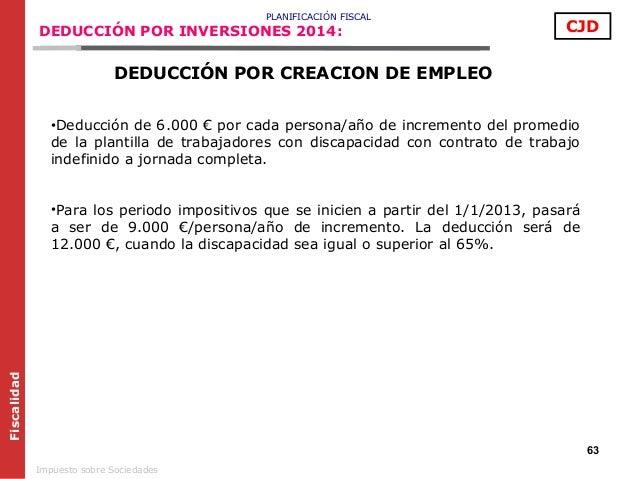 Aspectos claves de la fiscalidad de sociedades 2014 2015 for Plantilla de contrato indefinido