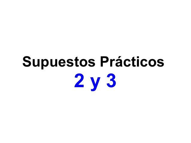 Supuestos Prácticos 4, 5 y 6