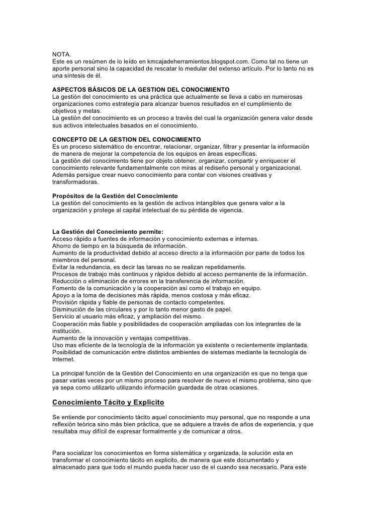 NOTA. Este es un resúmen de lo leído en kmcajadeherramientos.blogspot.com. Como tal no tiene un aporte personal sino la ca...