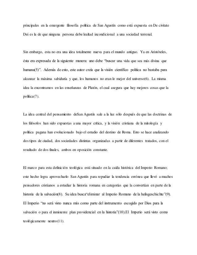 Aspectos del pensamiento político de san agustín en el contexto de la…