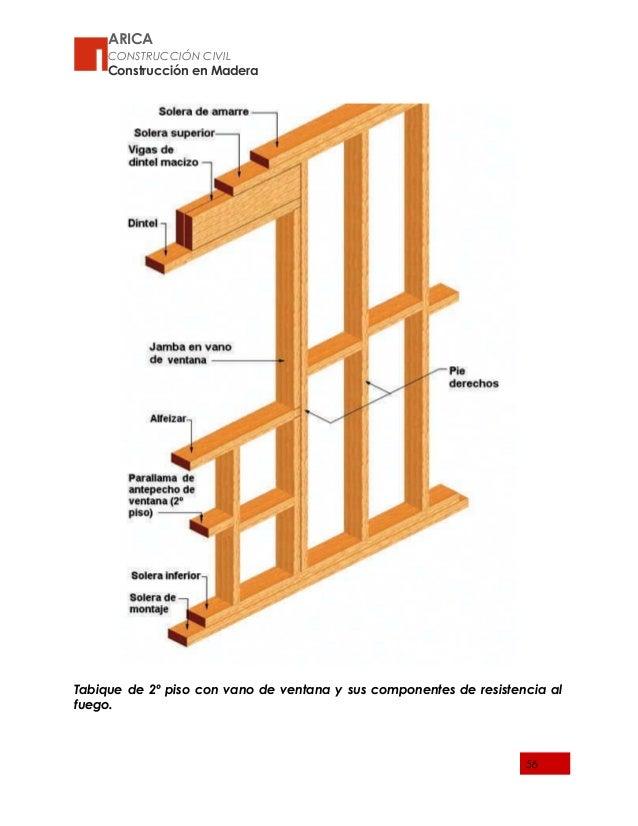 Aspectos generales para el dise o - Tabiques de madera ...
