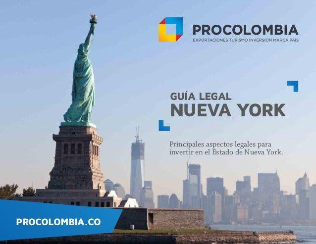 Aspectos legales en Estados Unidos - Nueva York