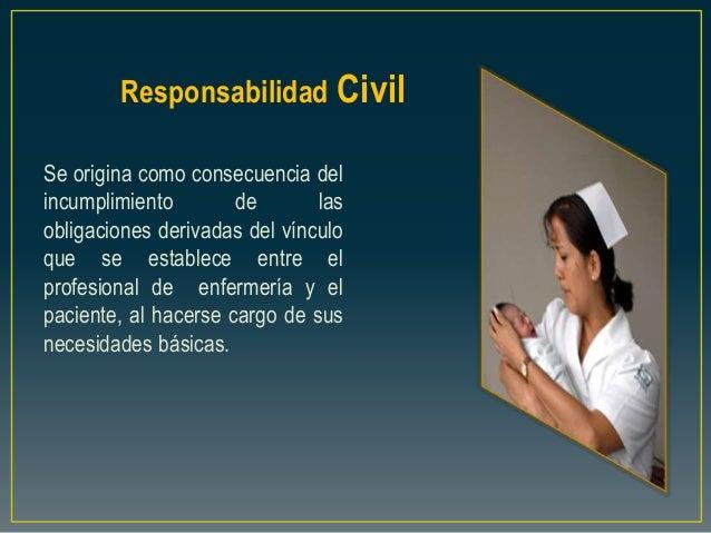 Responsabilidad Civil Se origina como consecuencia del incumplimiento de las obligaciones derivadas del vínculo que se est...