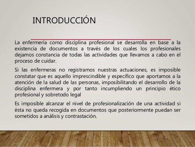 Aspectos legales en los registros clínicos de enfermería Slide 2