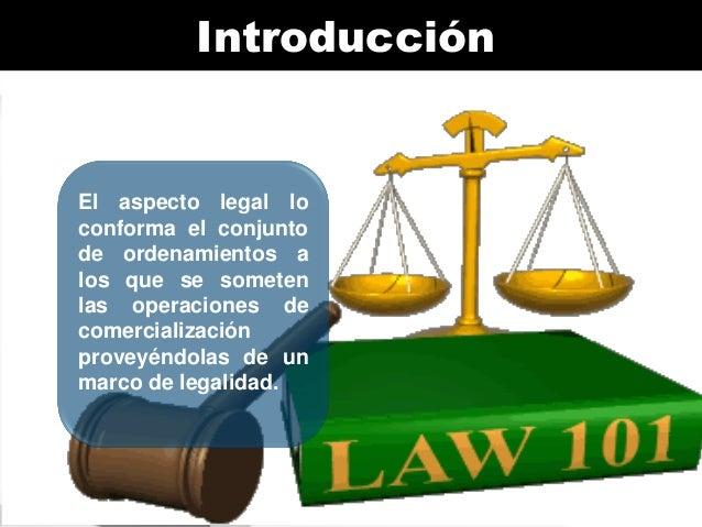 Aspectos legales del comercio Slide 3