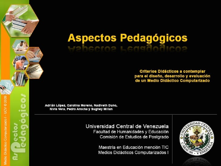 aspectos pedagogicos