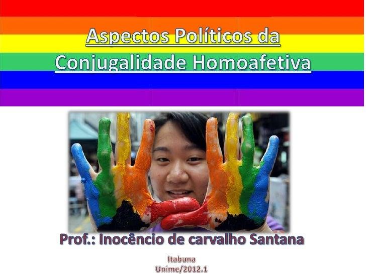 • Segundo o Censo Demográfico 2010, o  Brasil alcançou 60 mil casais homoafetivos. É a  primeira vez que o Instituto Brasi...