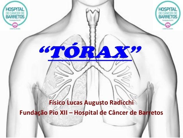 Físico Lucas Augusto Radicchi Fundação Pio XII – Hospital de Câncer de Barretos