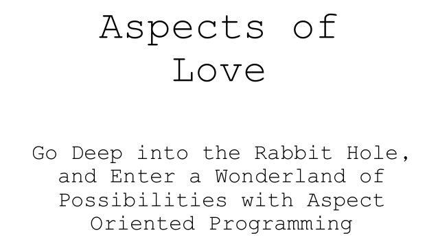 Aspects of love slideshare Slide 2
