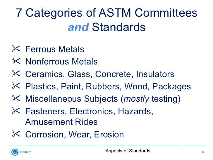 american society for testing and materials standards pdf