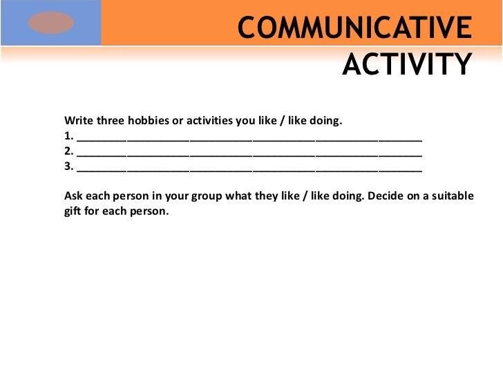 aspects of task based syllabus design