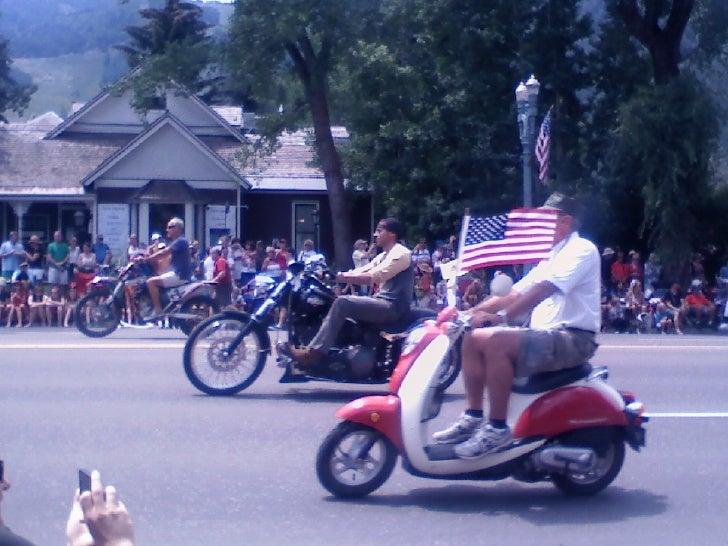 Aspen, colorado 4th of july parade 2012