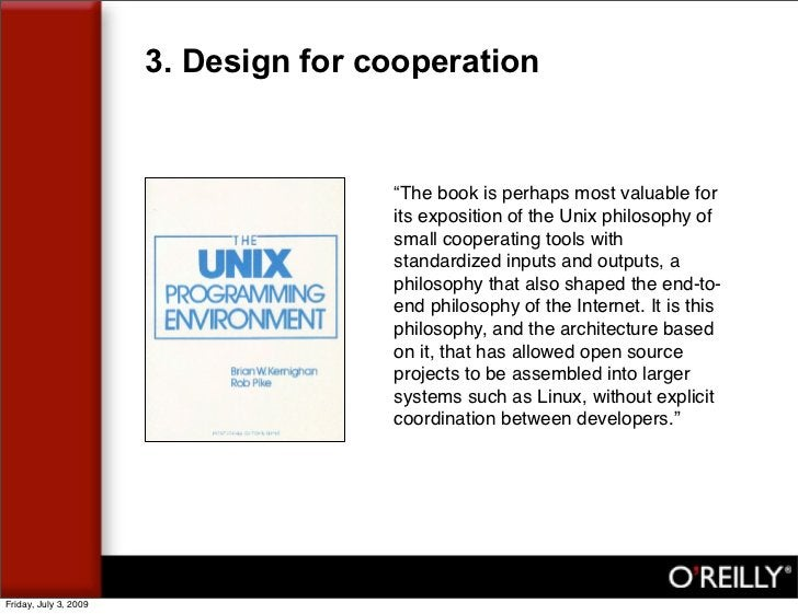 """3. Design for cooperation                                         """"The book is perhaps most valuable for                  ..."""