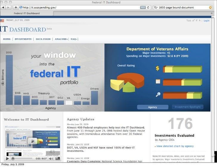 it.usaspending.gov     Friday, July 3, 2009
