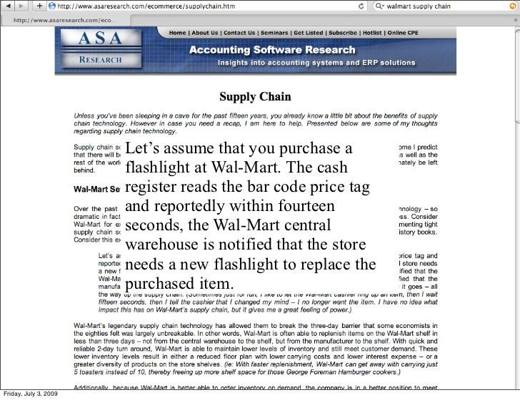 Let's assume that you purchase a                        flashlight at Wal-Mart. The cash                        register r...