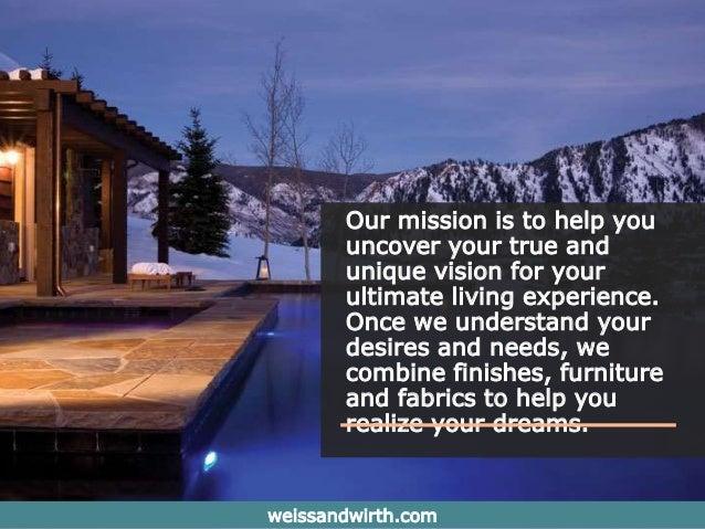 Weiss wirth aspen interior design for Aspen interior design firms