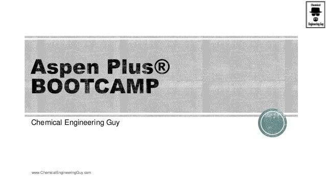 Chemical Engineering Guy www.ChemicalEngineeringGuy.com