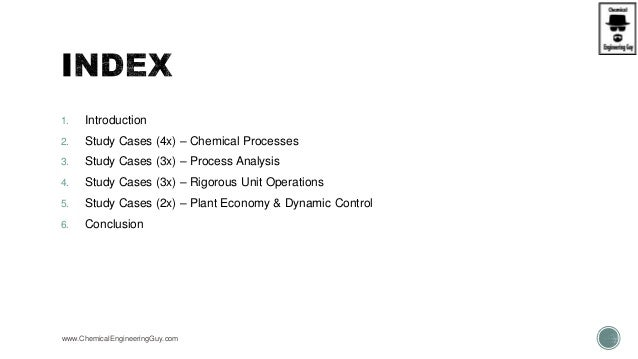 Aspen Plus - Bootcamp - 12 Case Studies (1 of 2) (Slideshare) Slide 3
