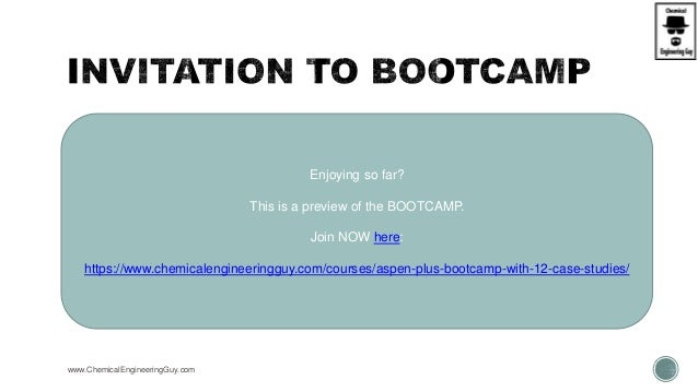www.ChemicalEngineeringGuy.com Enjoying so far? This is a preview of the BOOTCAMP. Join NOW here: https://www.chemicalengi...