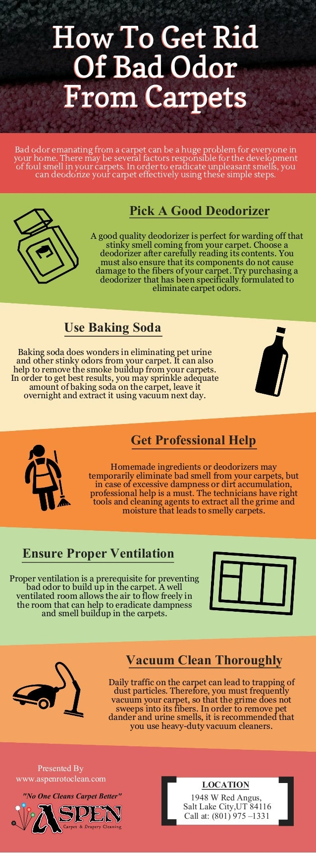 How To Get Rid Of Bad Odor