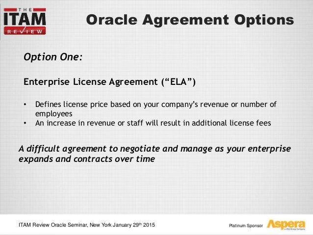 Itam Review Oracle Seminar Ny Aspera Presentation