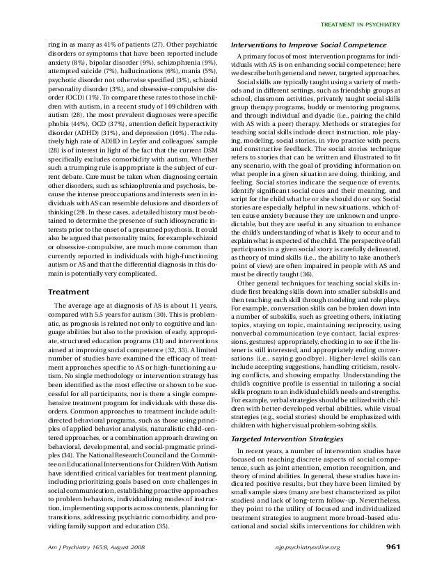 Am J Psychiatry 165:8, August 2008 961 TREATMENT IN PSYCHIATRY ajp.psychiatryonline.org ring in as many as 41% of patients...
