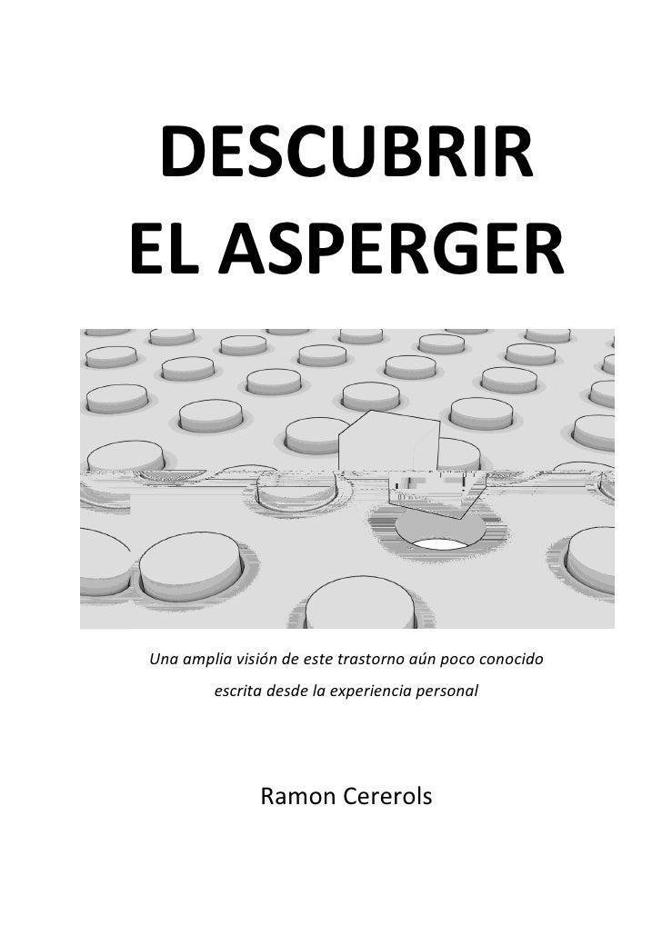 Descubrir El Asperger (desde una visión personal)