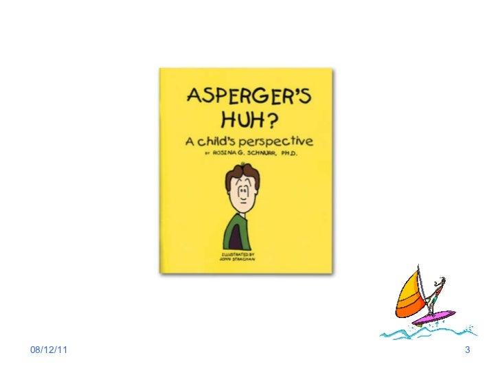 Asperger syndrome Slide 3
