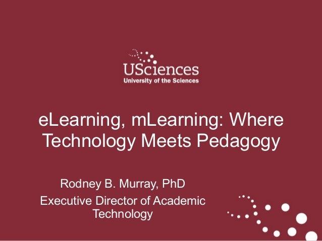 ASPET April 2014 Copyright © Rodney B. Murray, PhD Rodney B. Murray, PhD Executive Director of Academic Technology eLearni...