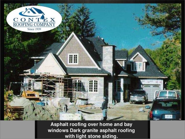 Asphalt Shingle Installation Contex Roofing Company Toronto