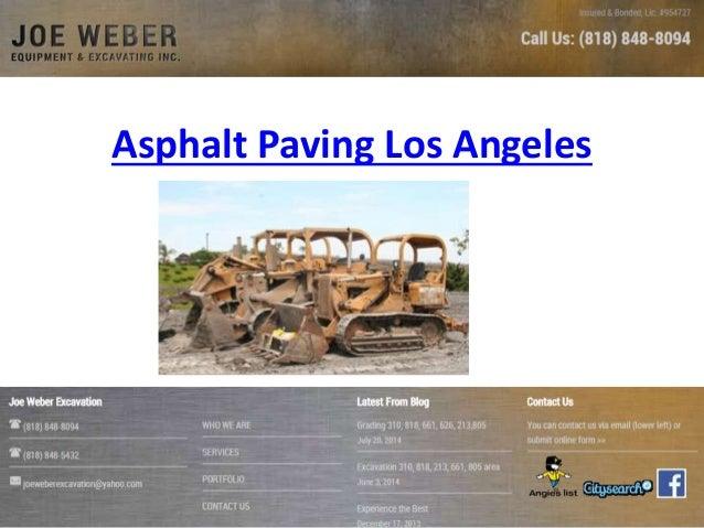 Asphalt Paving Los Angeles