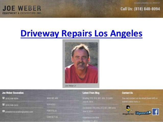 Driveway Repairs Los Angeles