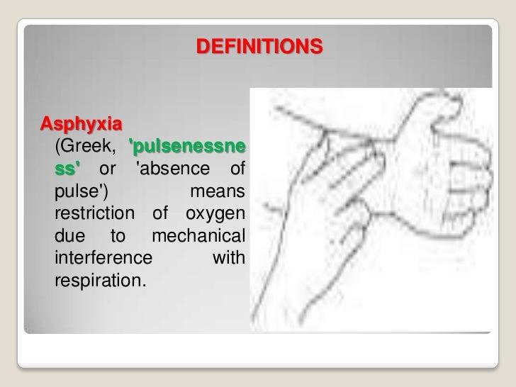 Asphyxial conditions Slide 2