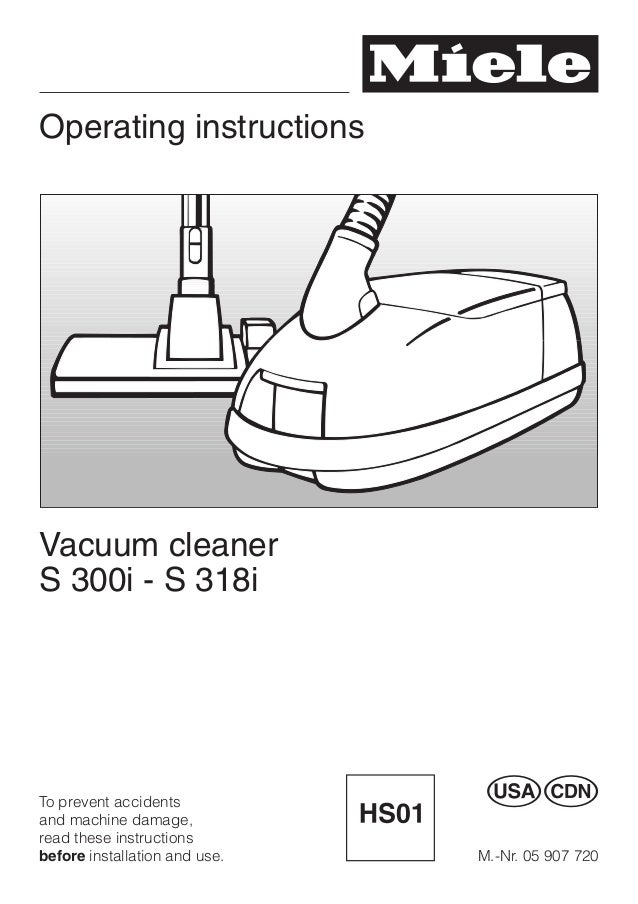 vacuum cleanner miele s312i 2 en rh slideshare net miele vacuum user manual miele s8 vacuum instruction manual