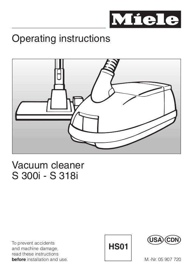 vacuum cleanner miele s312i 2 en rh slideshare net miele service manual pdf miele service manual pdf