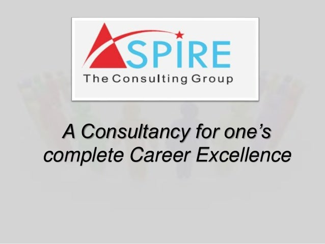 A Consultancy for one's complete Career Excellence