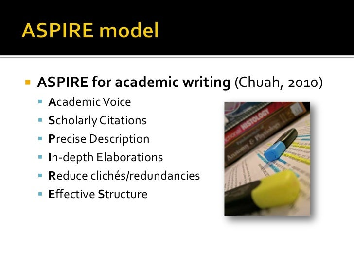 academic writing models